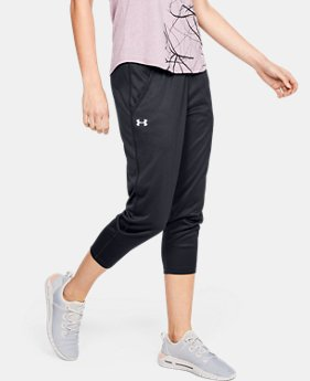 5fa8224316 New to Outlet Women's UA Play Up Capris 1 Color Available $30.99