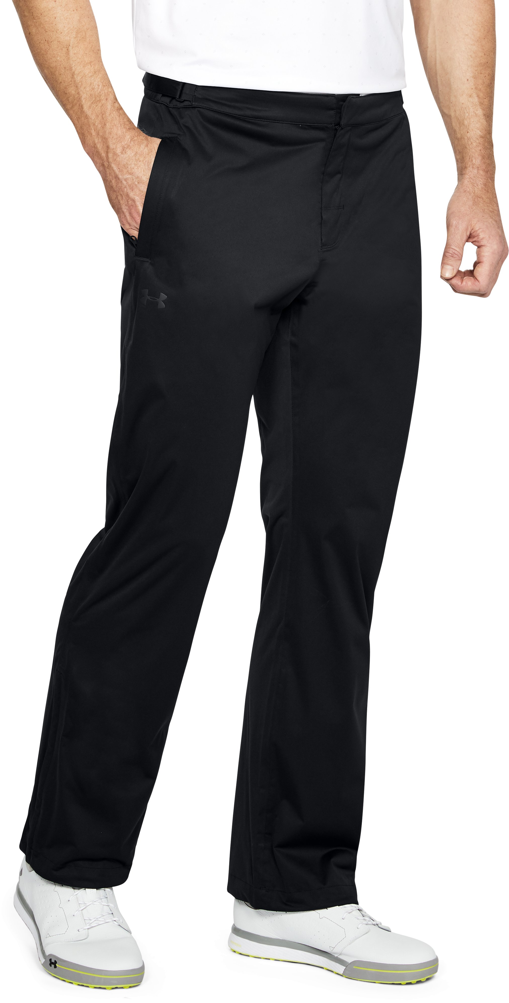 Men's UA Storm Rain Pants, Black