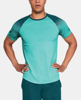New Arrival Men's UA MK-1 Dash Print Short Sleeve  1 Color $35