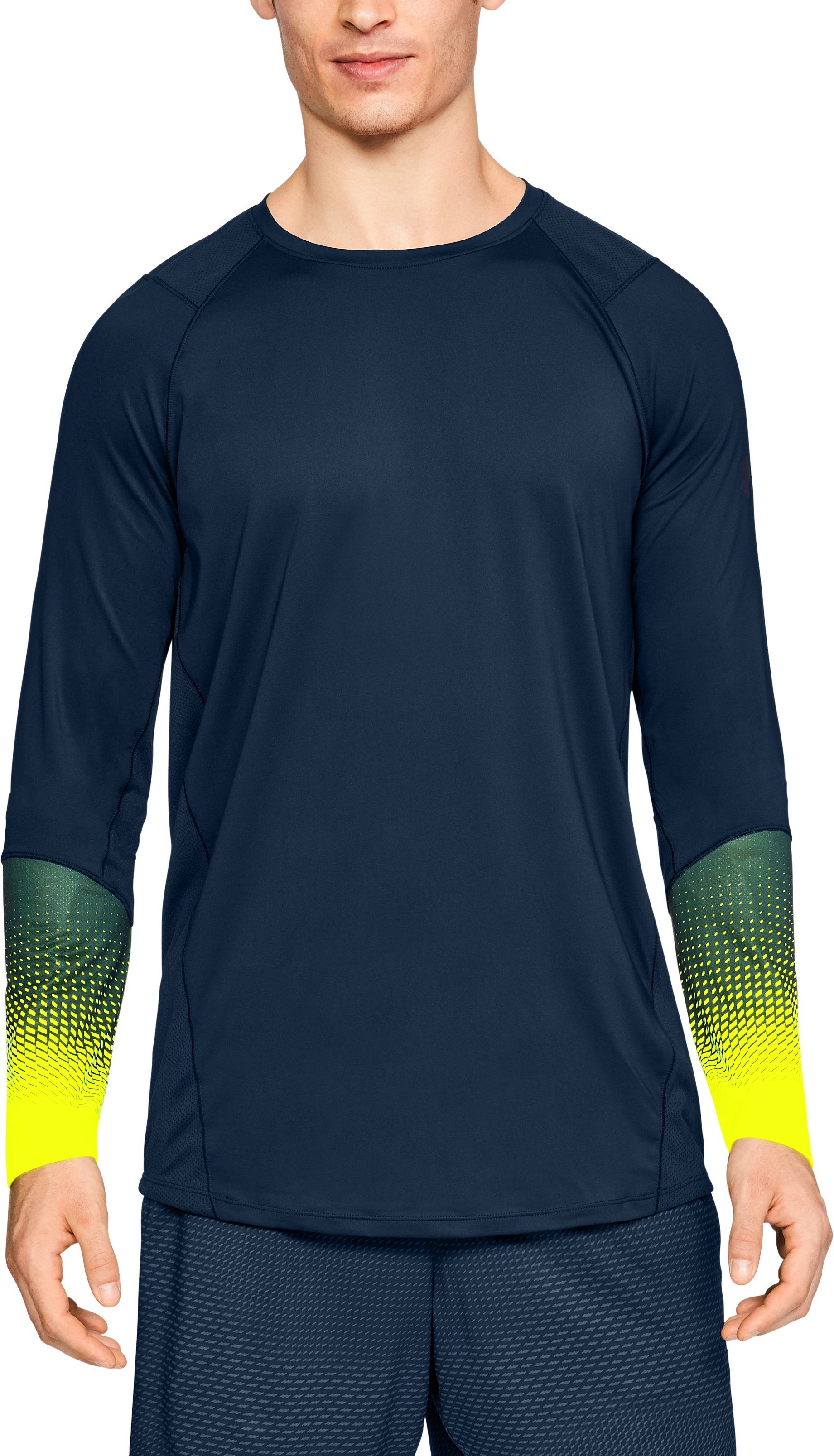 Men's UA MK-1 Long Sleeve Graphic, Academy