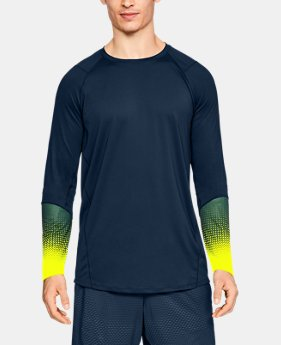 Men's UA MK-1 Long Sleeve Graphic  1 Color $35