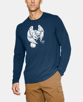 Men's UA Freedom Eagle Long Shirt T-Shirt  1  Color Available $17.99