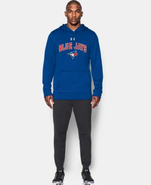 New Arrival  Men's Toronto Blue Jays UA Armour® Fleece Hoodie  1 Color $79.99