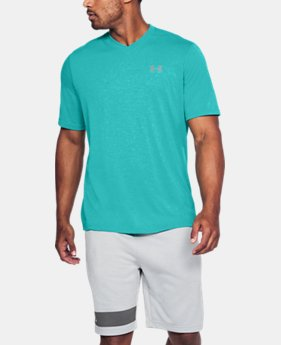 Men's UA Siro Heathered V-neck LIMITED TIME: FREE U.S. SHIPPING 5  Colors Available $29.99