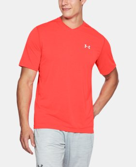 New Arrival Men's UA Siro Heathered V-neck  1  Color $29.99
