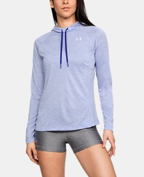 New to Outlet Women's UA Tech™ Twist Hoodie  1  Color Available $33.75