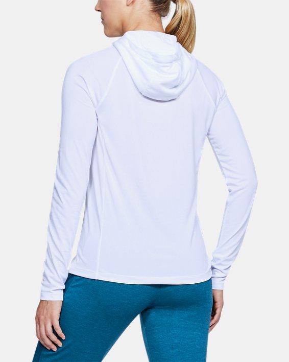 Women's UA Tech™ Hoodie, White, pdpMainDesktop image number 2