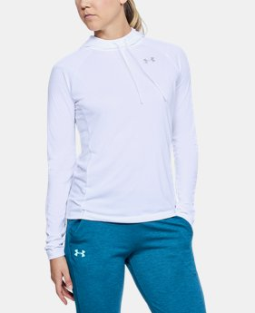 Women's UA Tech™ Hoodie  1 Color $45