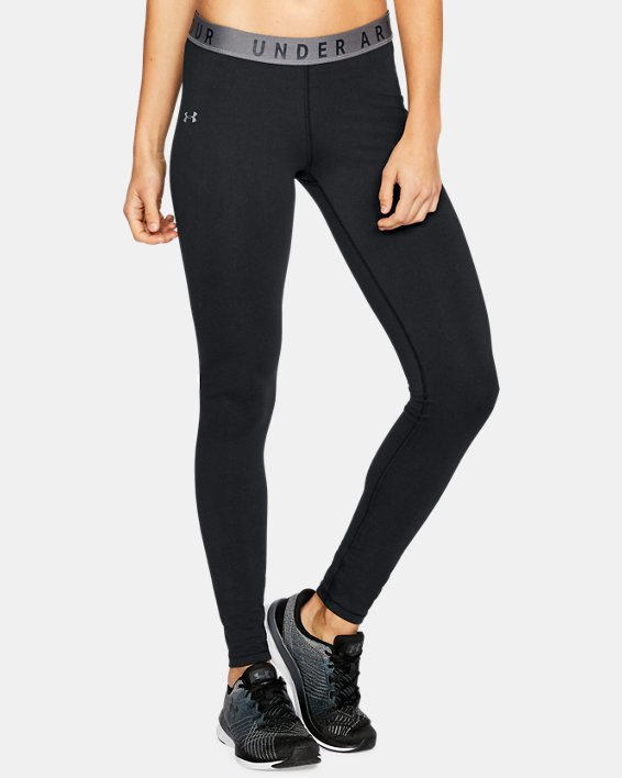 Women's UA Favorite Leggings, Black, pdpMainDesktop image number 0