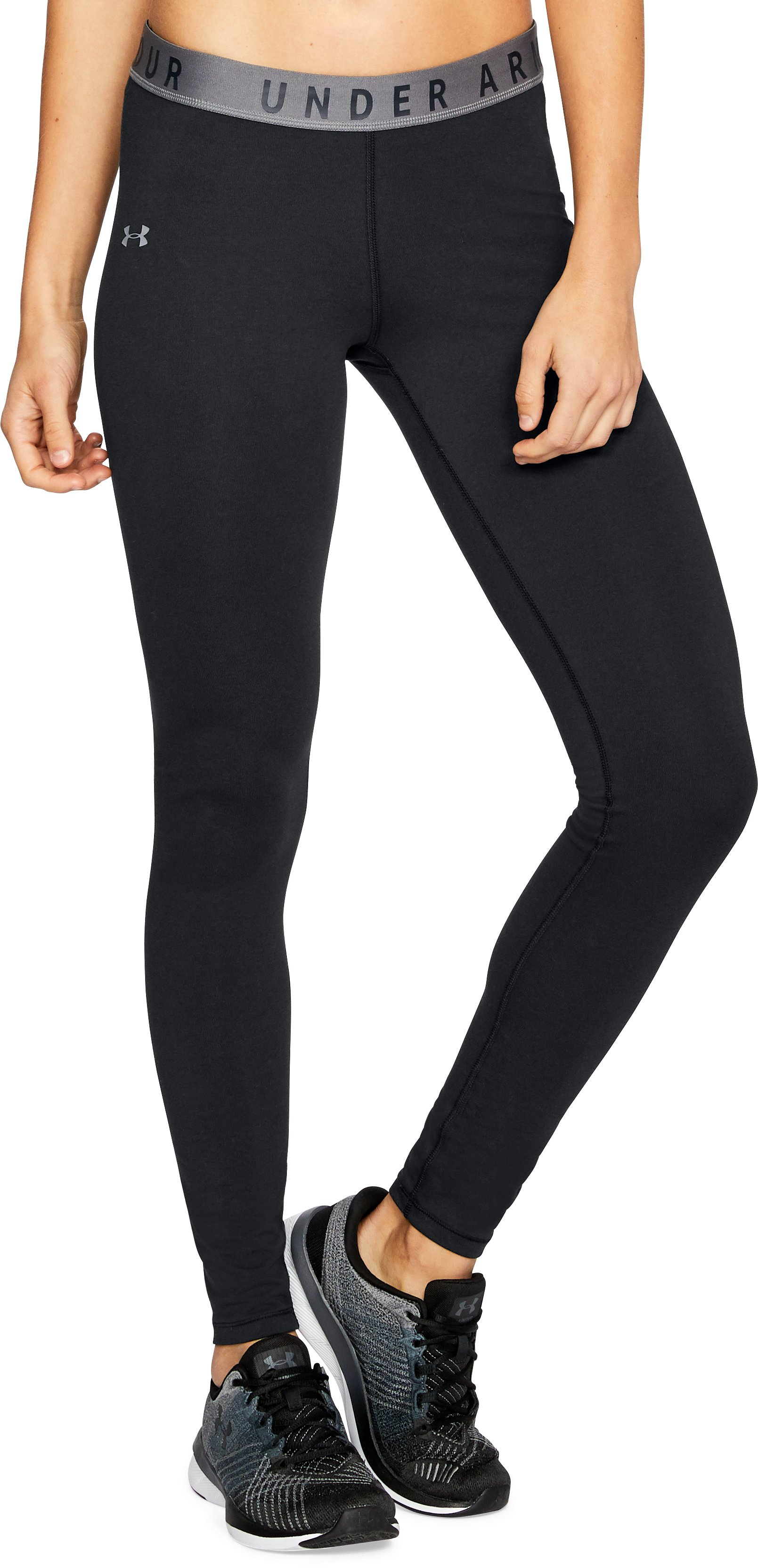 Women's UA Favorites Leggings, Black ,