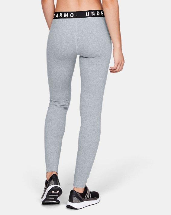 Women's UA Favorite Leggings, Gray, pdpMainDesktop image number 2