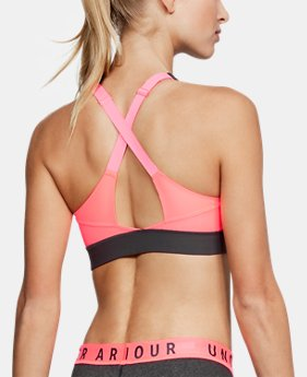 Women's UA Vanish Mid Sports Bra FREE U.S. SHIPPING 1  Color Available $40
