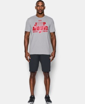 New Arrival Men's Wisconsin Badgers Juwp Around T-Shirt  1 Color $29.99