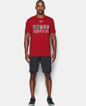 New Arrival Men's Wisconsin Grateful Red T-Shirt  1 Color $29.99