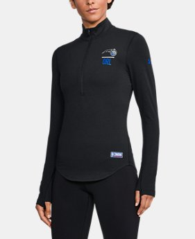 Women's NBA Combine Authentic Charged Cotton® ½ Zip   $60