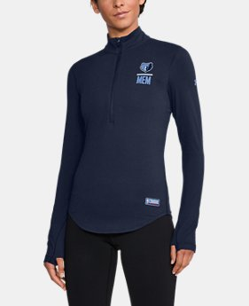 New Arrival Women's NBA Combine Authentic Charged Cotton® 1/2 Zip  1 Color $60