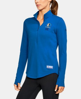 Women's NBA Combine Authentic Charged Cotton® 1/2 Zip   $60