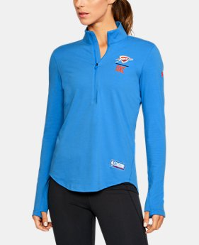 Women's NBA Combine Authentic Charged Cotton® 1/2 Zip  4  Colors Available $60