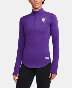 Women's NBA Combine Authentic Charged Cotton® 1/2 Zip  4 Colors $60