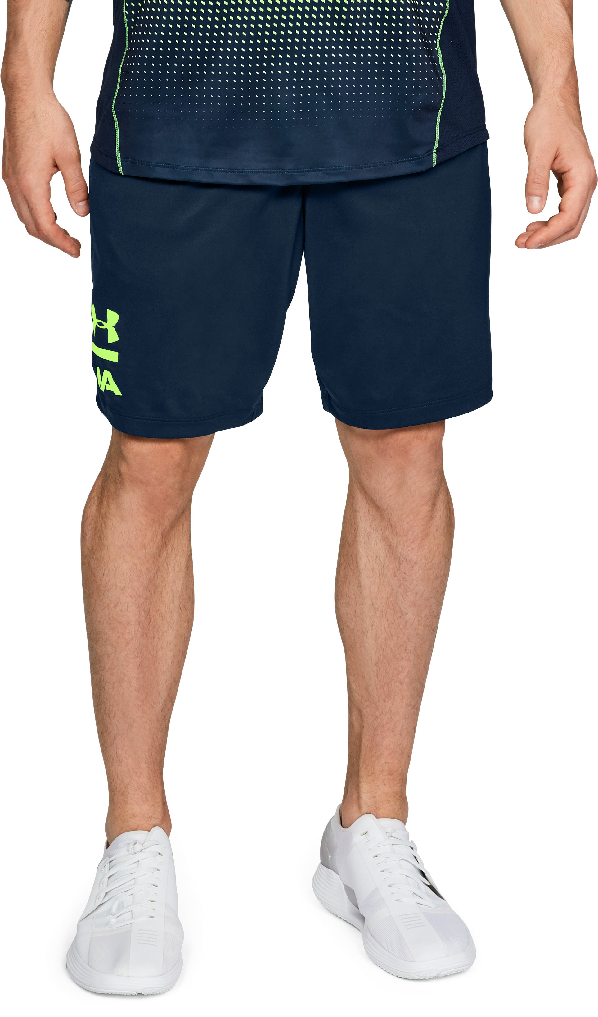 Men's UA MK-1 Graphic Shorts, Academy