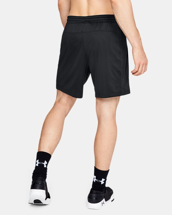 "Men's UA MK-1 7"" Shorts, Black, pdpMainDesktop image number 2"