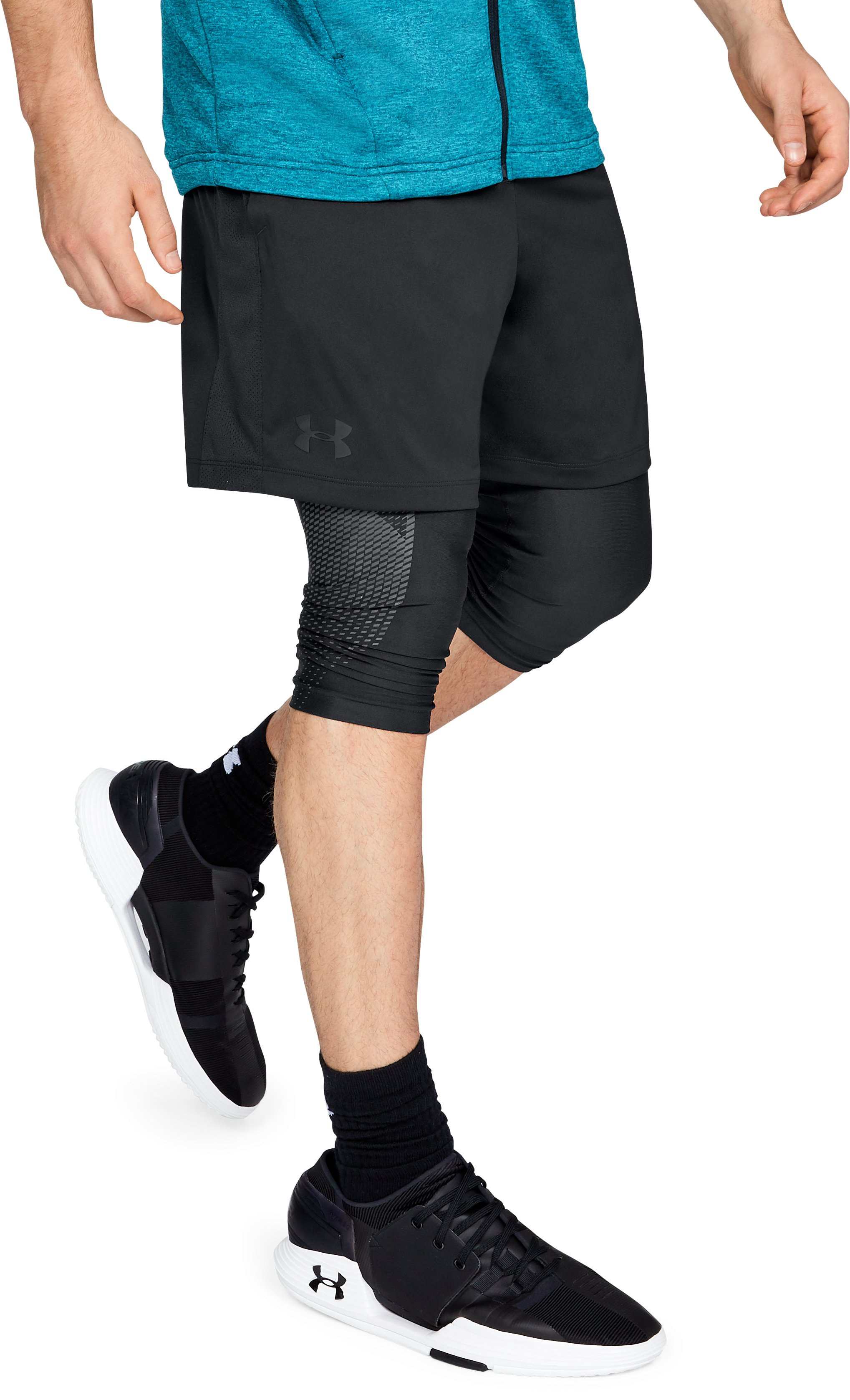 "Men's UA MK-1 7"" Shorts, Black"