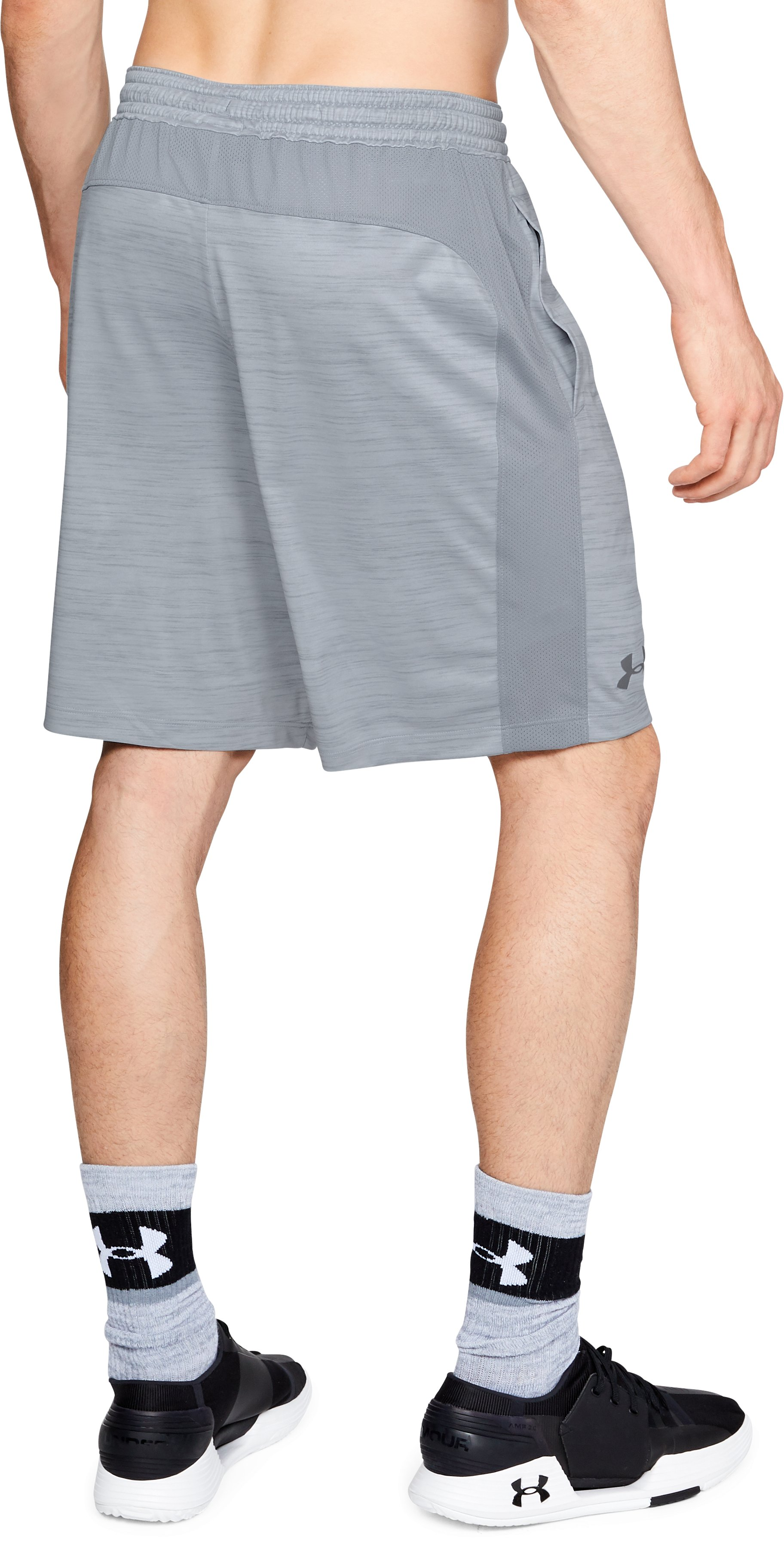 Men's UA MK-1 Twist Shorts, Steel,