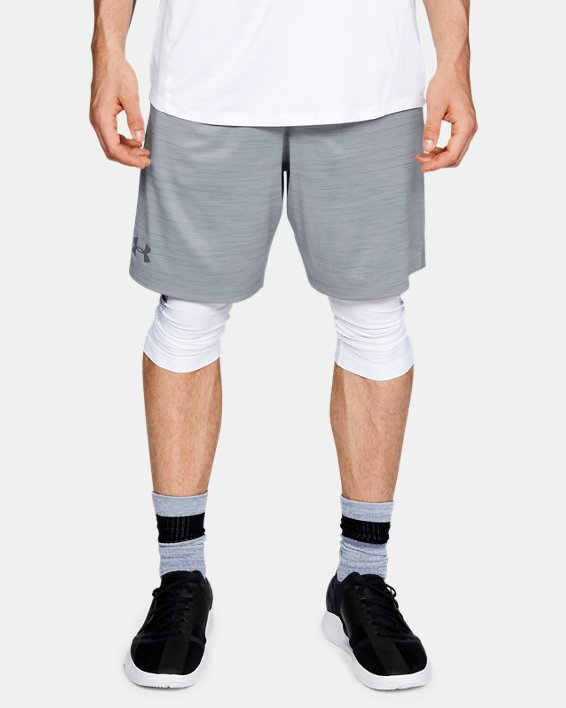 Men's UA MK-1 Twist Shorts, Gray, pdpMainDesktop image number 0