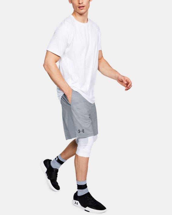 Men's UA MK-1 Twist Shorts, Gray, pdpMainDesktop image number 1