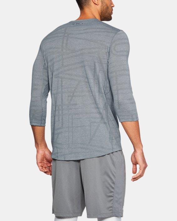 Men's UA ¾ Utility T-Shirt, Gray, pdpMainDesktop image number 2