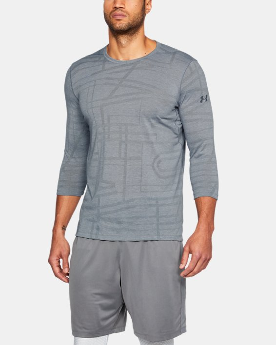Men's UA ¾ Utility T-Shirt, Gray, pdpMainDesktop image number 0