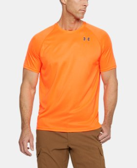 New to Outlet Men's UA Tactical Hi-Vis T-Shirt  1  Color Available $18.74