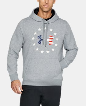 Men's UA Freedom Rival Fleece Hoodie  1  Color Available $37.49 to $37.99