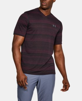 New Arrival Men's UA Threadborne™ V-Neck  1 Color $29.99