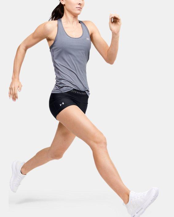 Women's HeatGear® Armour Shorty Shorts, Black, pdpMainDesktop image number 1