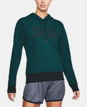 Women's UA Threadborne Fleece Hoodie  1  Color Available $35.99