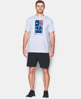 New Arrival Men's UA Tennis Australia T-Shirt  1 Color $24.99