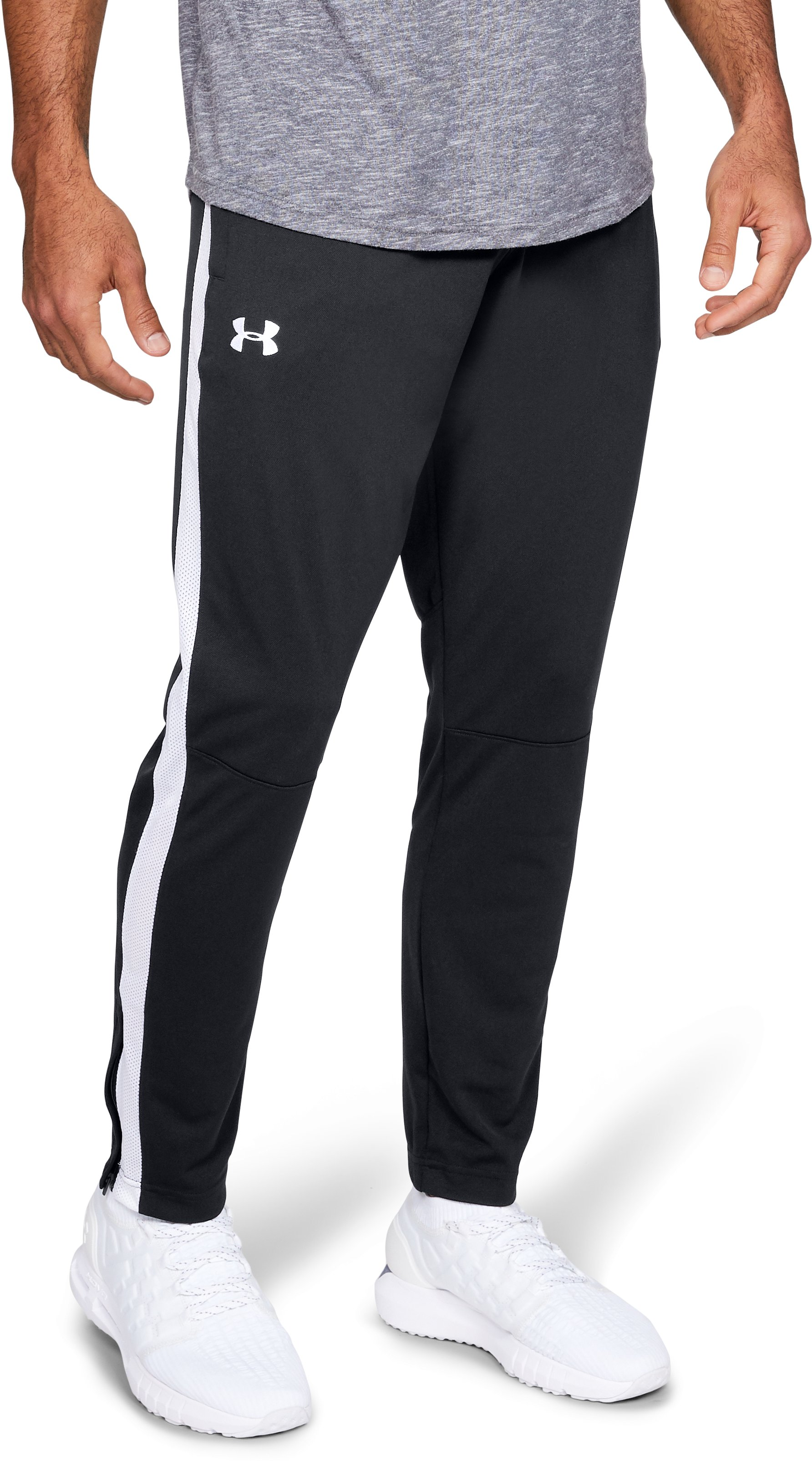 Men's UA Sportstyle Pique Pants, Black