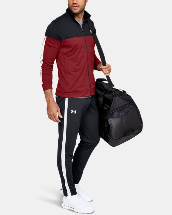 Men's UA Sportstyle Pique Pants, Black, pdpMainDesktop image number 1