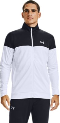 Under Armour Mens Sportstyle Pique Jacket Warm-up Top 1313204