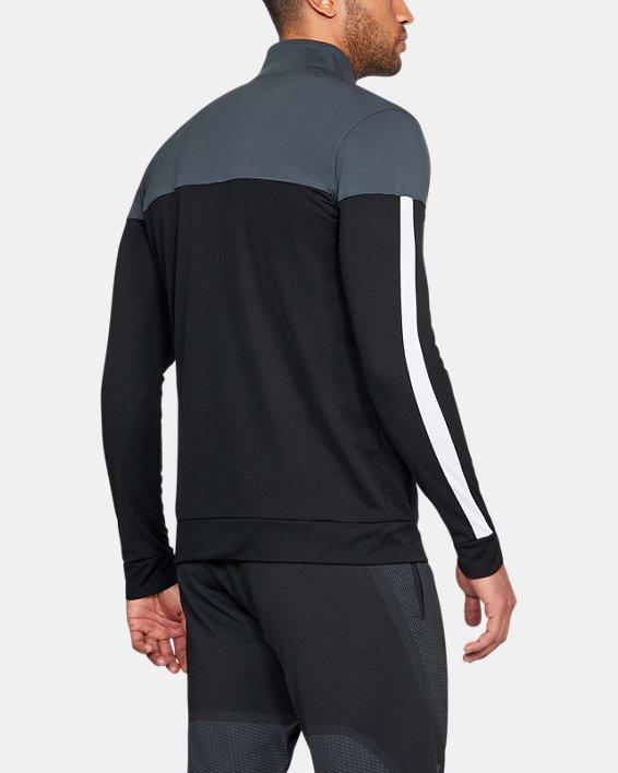 Men's UA Sportstyle Pique Jacket, Gray, pdpMainDesktop image number 0