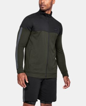 New Arrival Men's UA Sportstyle Pique Jacket  1 Color $50