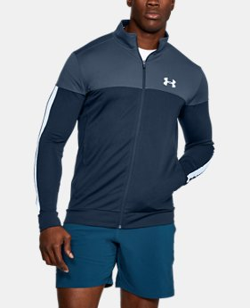 Men's UA Sportstyle Pique Jacket  2  Colors Available $37.5