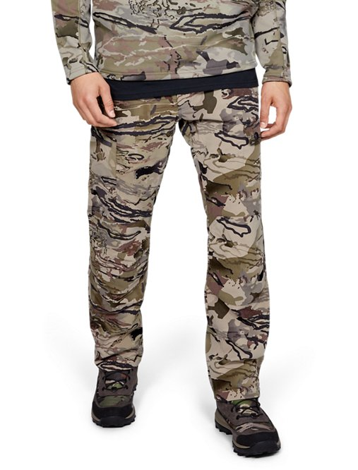 New Under Armour UA Early Season Field Forest Camo Women's Hunting Pants Sz 2,8