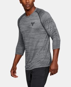 Best Seller  Men's UA x Project Rock ¾ Utility T-Shirt  1 Color $44.99