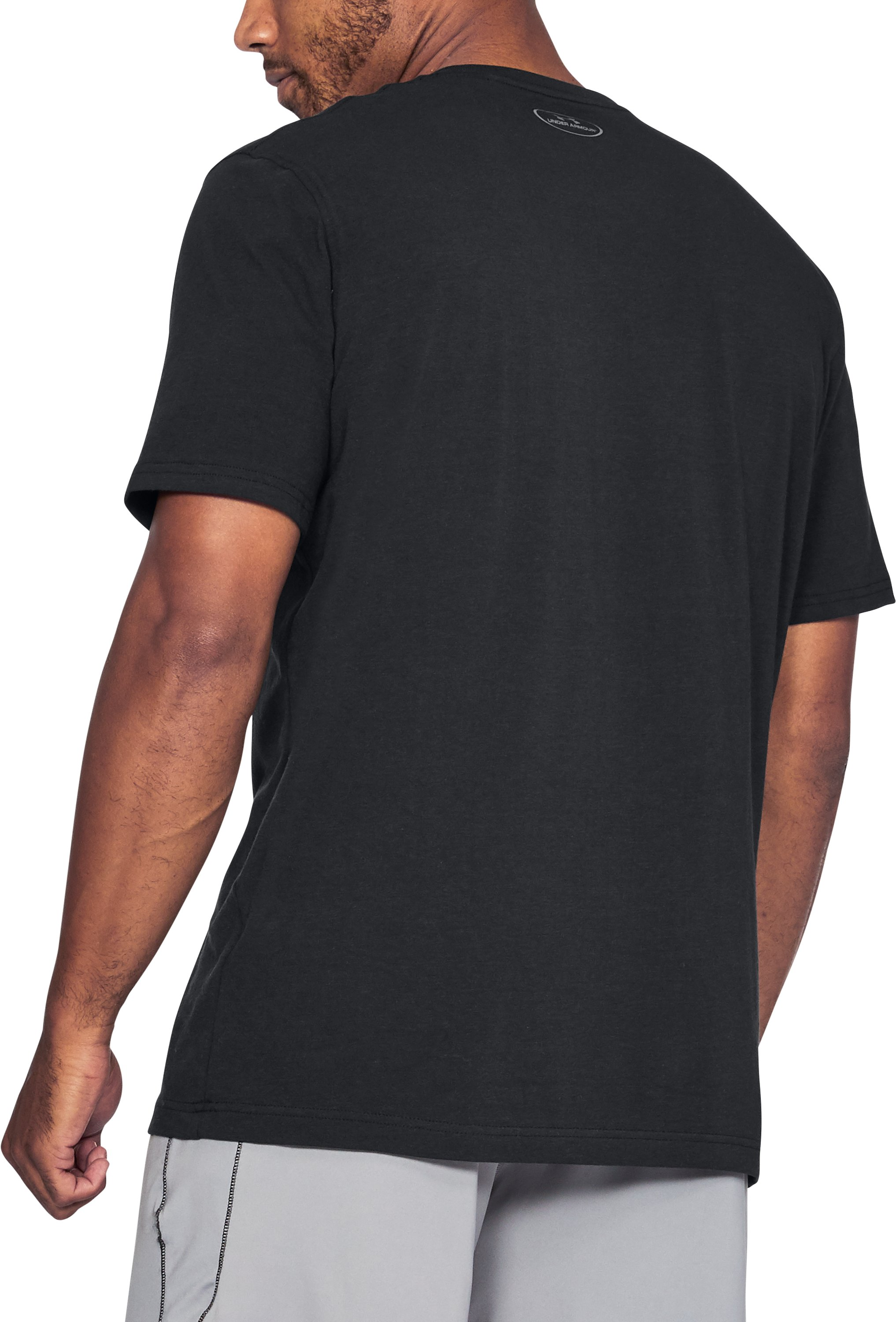 Men's UA x Project Rock BSR Update T-Shirt, Black ,