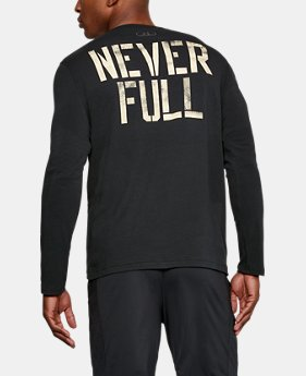 Best Seller Men's UA x Project Rock Never Full Long Sleeve  2 Colors $39.99