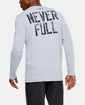 Best Seller  Men's UA x Project Rock Never Full Long Sleeve  1 Color $49.99