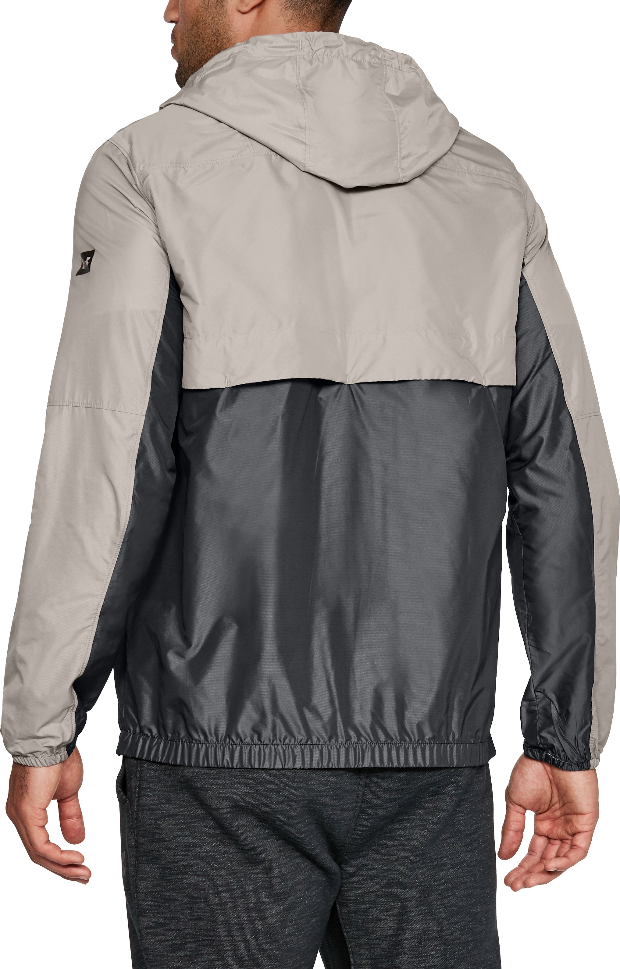 Men's UA Pursuit Subsurface Windbreaker, AUTUMN TAN, undefined