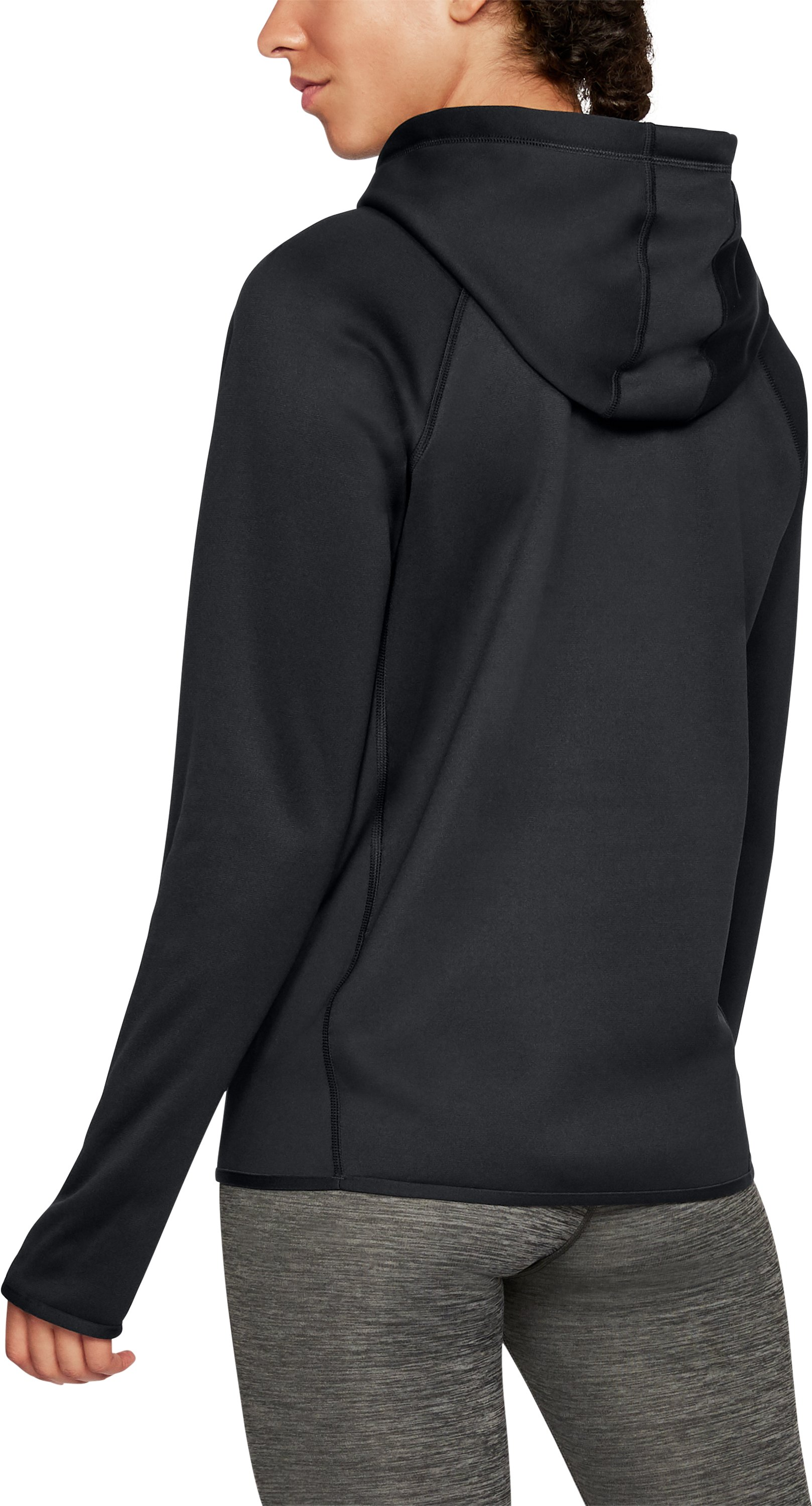 Women's  UA Storm Armour Fleece® Big Logo Hoodie, Black ,